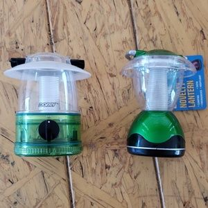 2 Battery operated LED miniature lanterns
